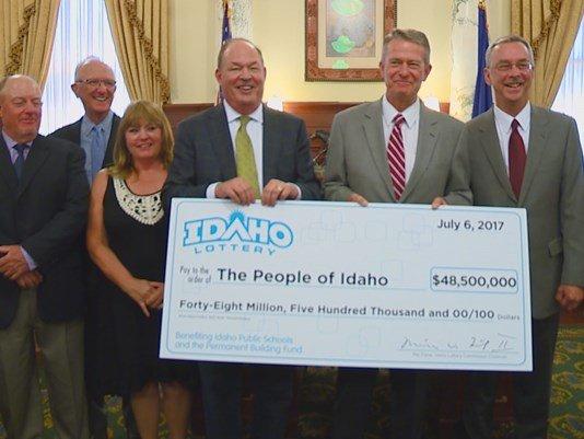 Целевые отчисления лотереи Айдахо составили 48,5 млн долларов