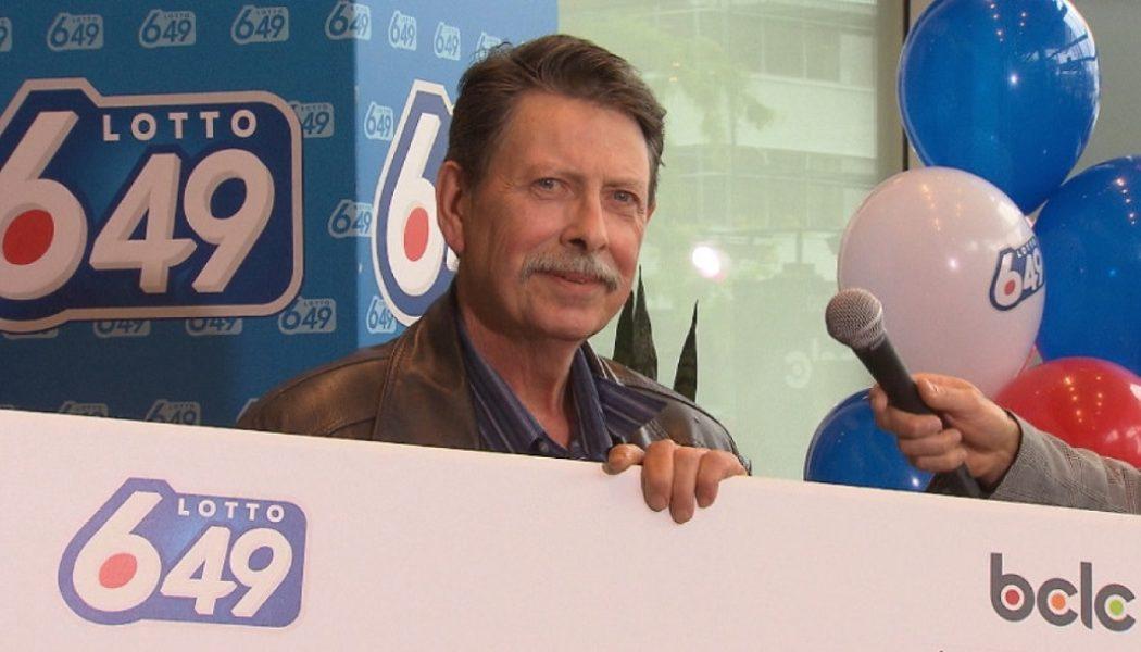 Гарри Блэк, победитель лотереи 6 из 49, Канада