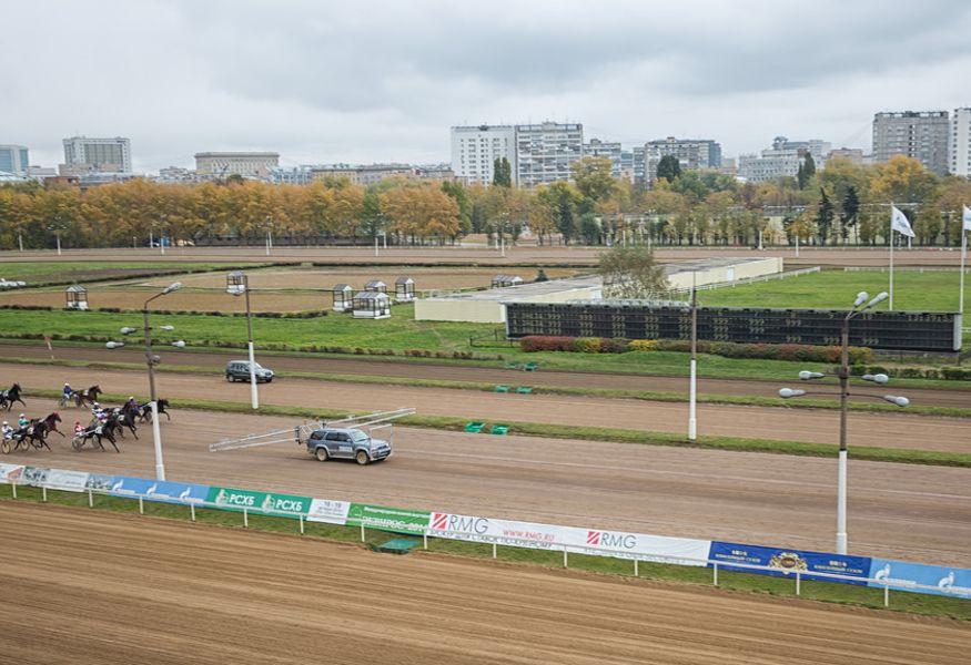 центральный московский ипподром, беговая дорожка