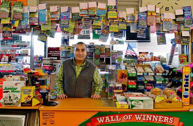 Розничная продажа лотерейных билетов