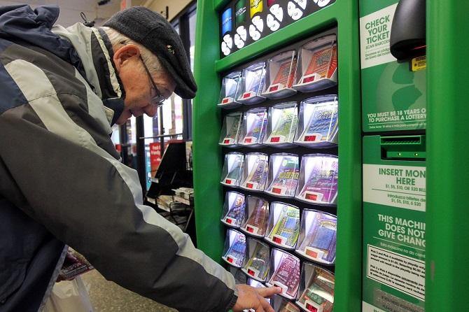 Вендинговый автомат по продаже лотерейных билетов
