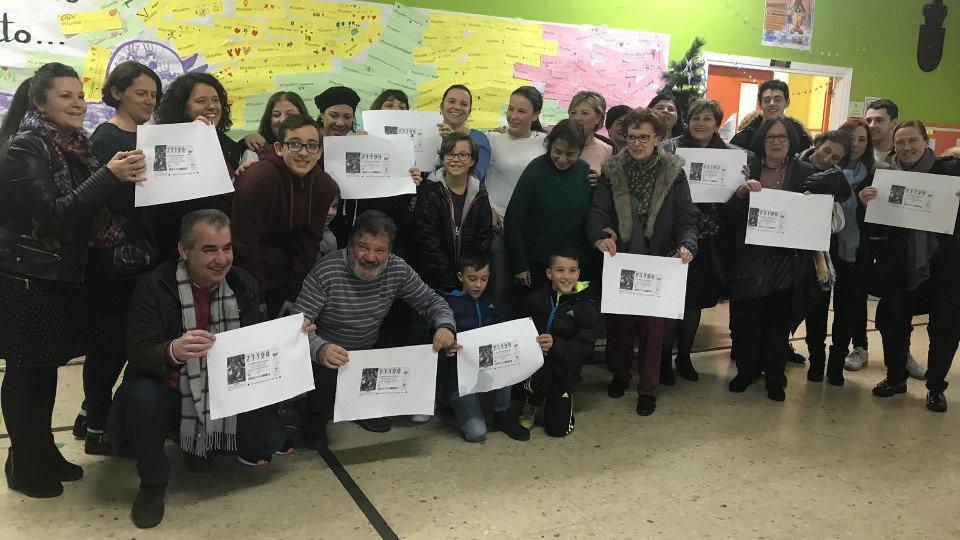 Победители Эль Гордо де Навидад в 2017, учителя