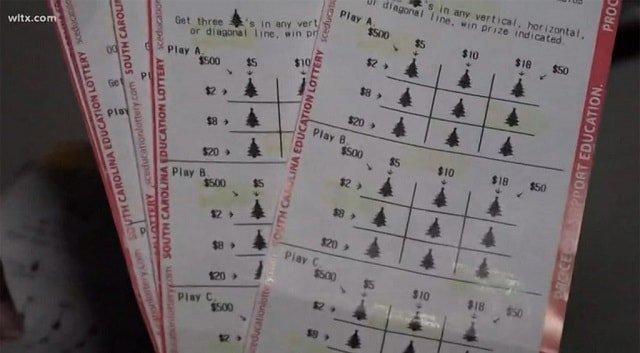 билеты с выигрышем $500