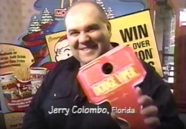 Дженнаро Коломбо в рекламе «Макдоналдса»