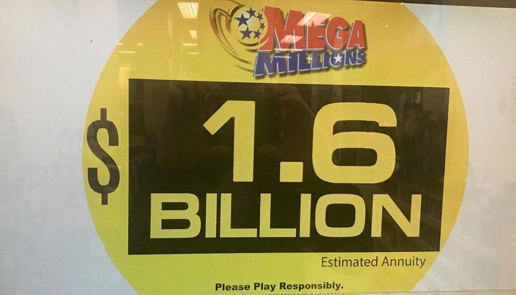 Новый мировой рекорд — джекпот 1,6 млрд долларов