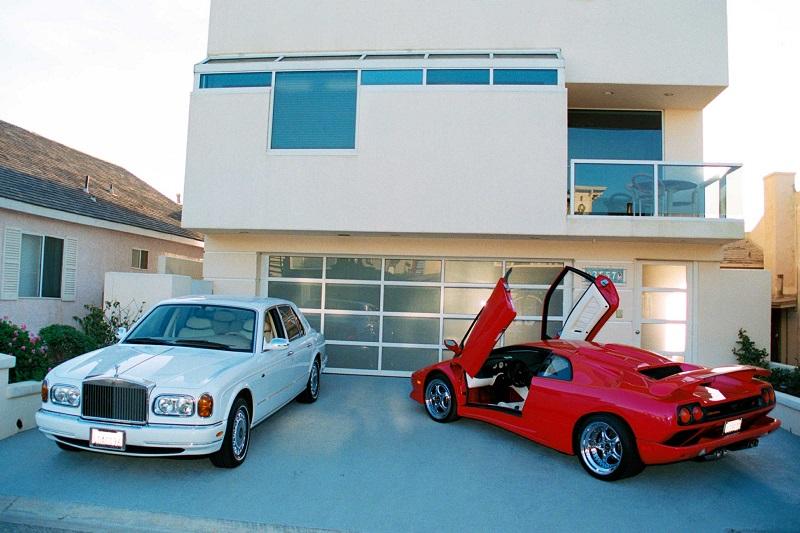 Rolls Royce и Lamborghini Джима Хейса