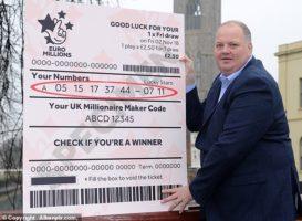 Победитель лотереи не забрал 76 млн, срок истекает в воскресенье