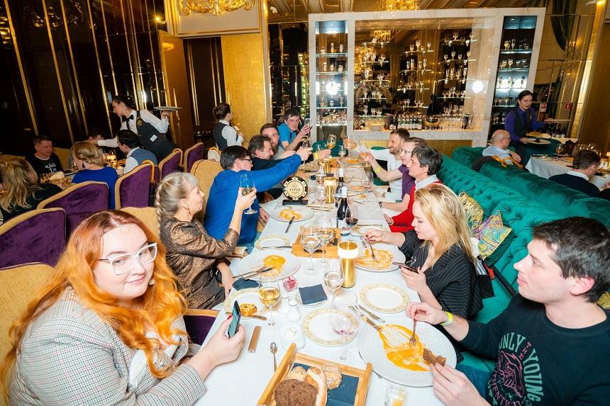 Гала-ужина в ресторане «Брунелло»