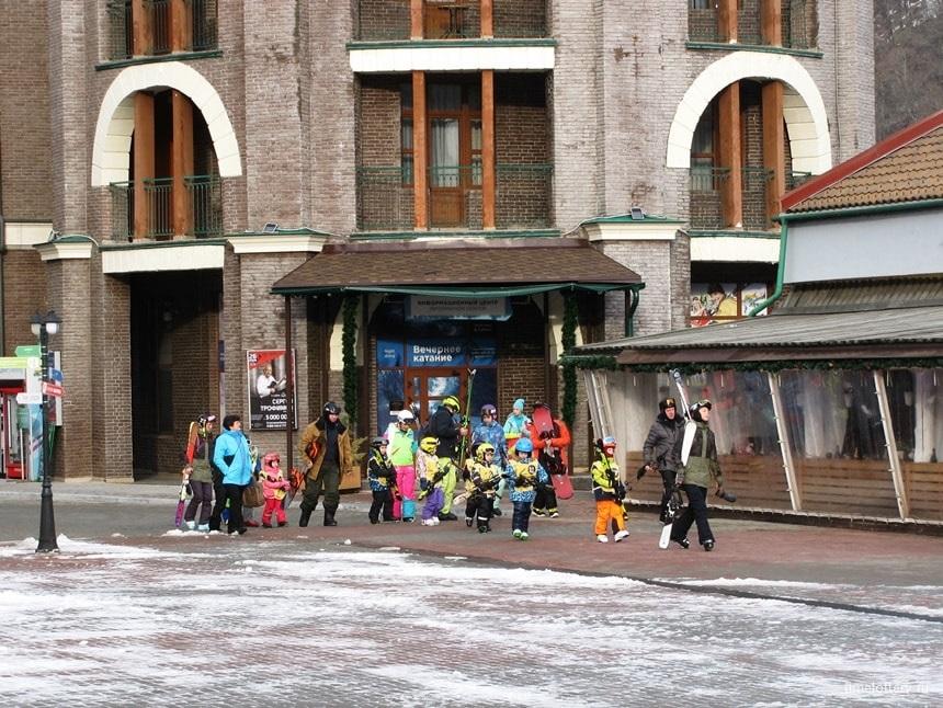 Горные лыжи для самых маленьких