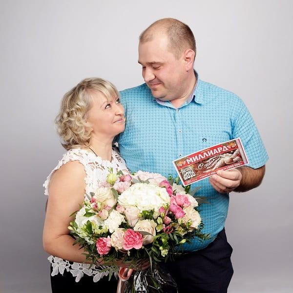 Фото Николая с супругой