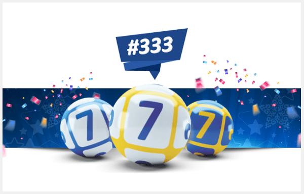 333 тираж лотереи 777
