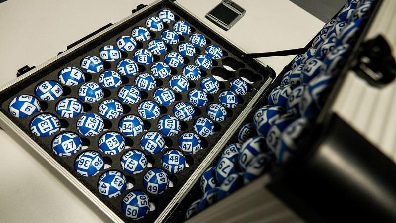 Кейс для хранения лотерейных шаров