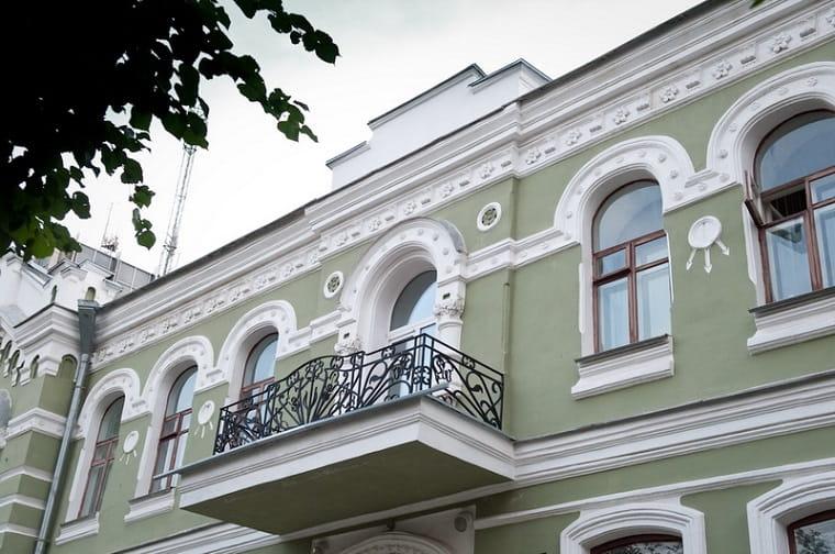 Тот самый декоративный элемент на фасаде