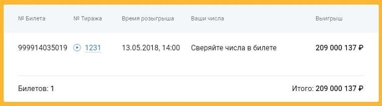 билет 999914035019