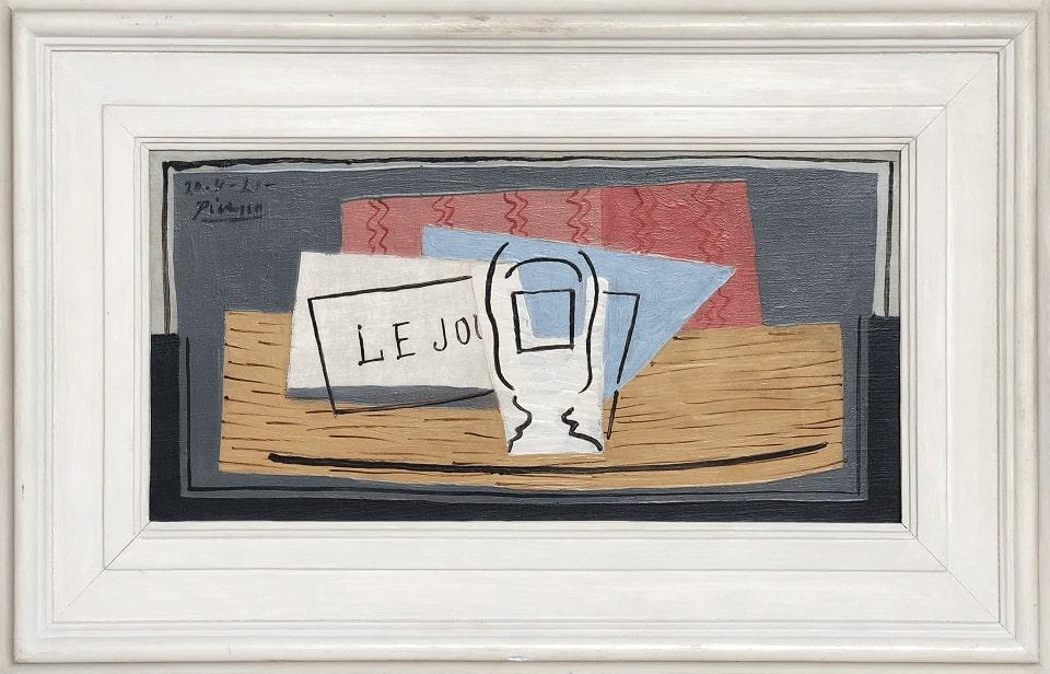 """Пабло Пикассо, """"Натюрморт"""""""
