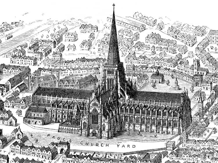 Собор Святого Павла до 1561 года