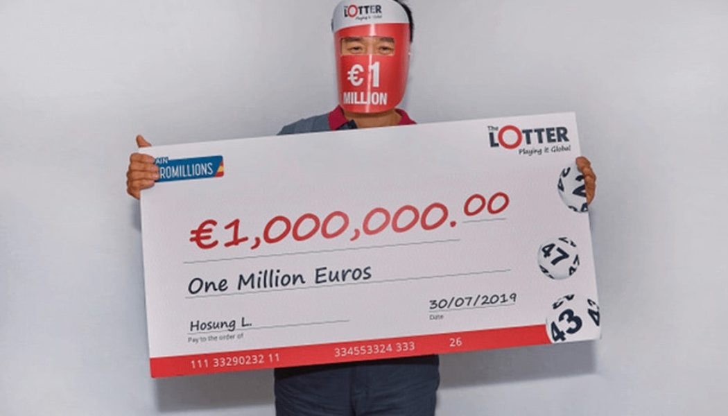 South Korean Player Wins €1 Million EuroMillions Prize!