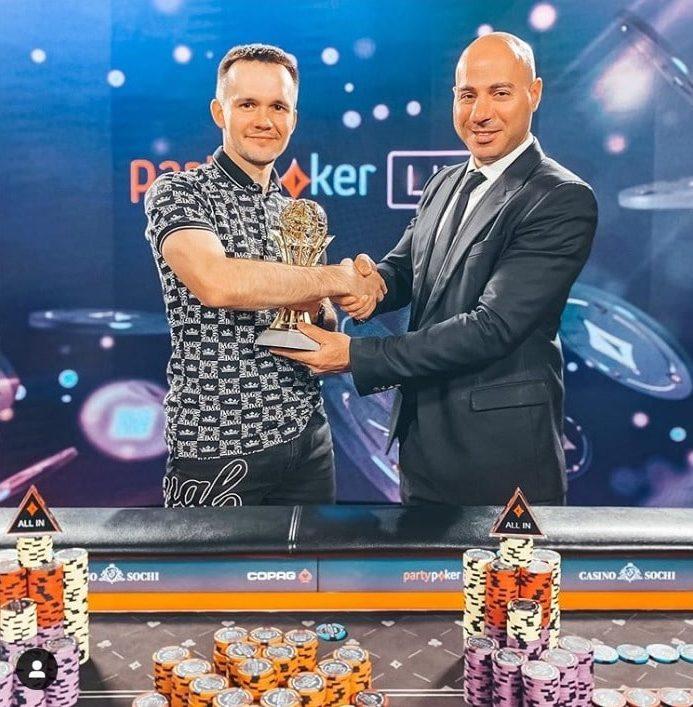 Никита Бодяковский выиграл в Сочи 765 000 долларов