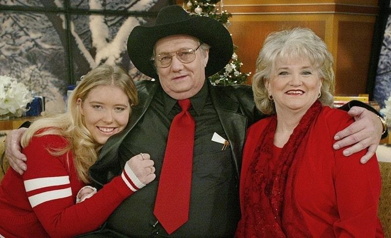 Джек Уиттакер с семьей