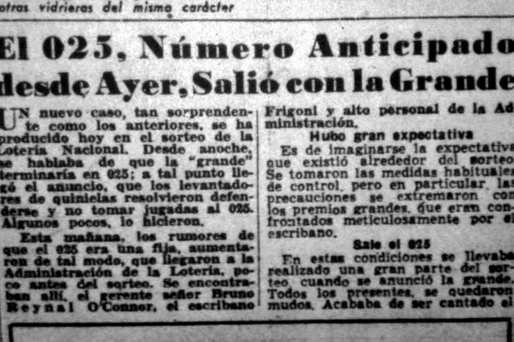газета Critica пишет про номер 025