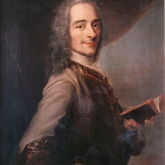 Портрет Вольтера