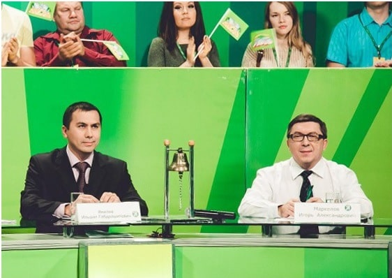 Игорь Маркелов в тиражной комиссии
