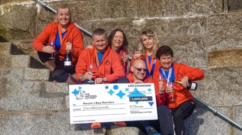 Синдикат марафонцев, выигрыш 1 млн фунтов стерлингов