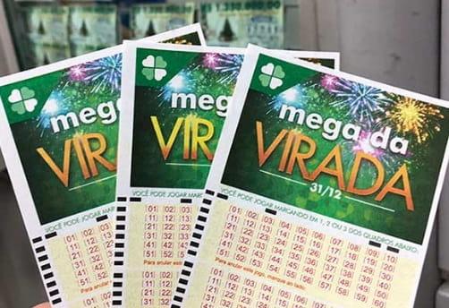 Купон лотереи Mega da VIRADA