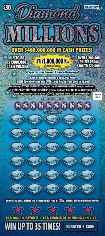 Билет Diamond Millions
