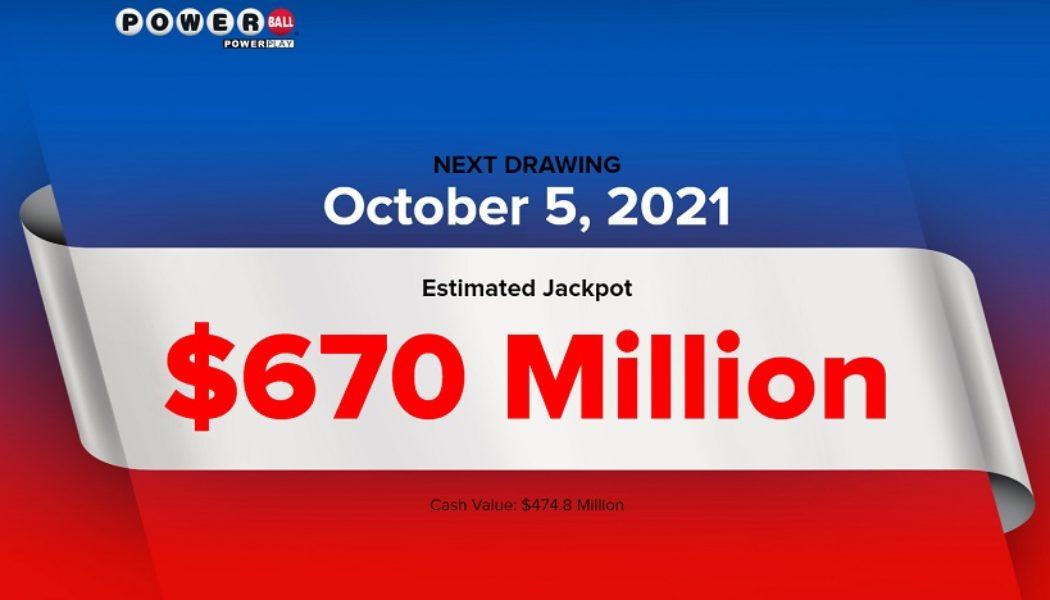 Джекпот Powerball достиг 700 миллионов долларов